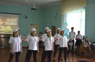 В розинской школе состоялся большой концерт