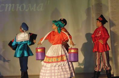 Коркинцы побывали «В гостях у народного костюма»