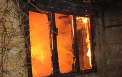 Ночью в Коркинском районе при пожаре погиб мужчина