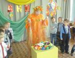 Для коркинских малышей библиотека проводит осенние праздники