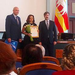 Коркинцев наградили за успехи в летней занятости