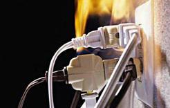 В Коркино от замыкания электропроводки загорелись постройки