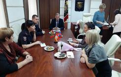 Коркинские полицейские почтили память погибших сотрудников