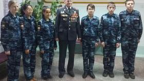 Коркинский ветеран и общественник встретился с будущими полицейскими