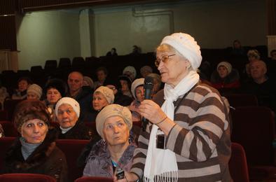 Коркинские ветераны встретились с руководством района и города