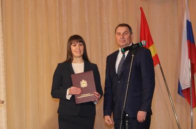 Наталья Лощинина вступила в должность главы района