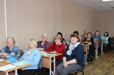 Коркинские активисты «серебряного возраста» продолжают учиться