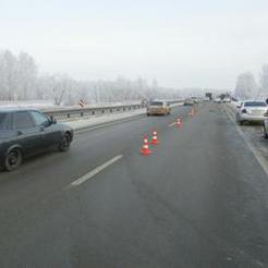 На автомобильной трассе возле Коркино сбит пешеход