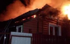 У жительницы Розы при пожаре пострадал дом