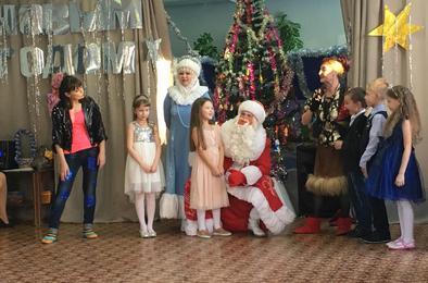 Коркинским первоклассникам подарили волшебный праздник