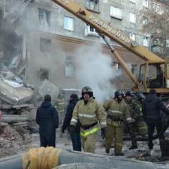 Накануне Нового года в Магнитогорске из-за взрыва газа разрушен дом