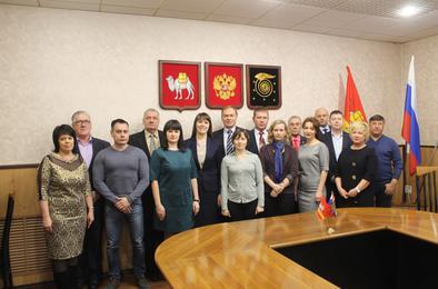 В Коркино чествовали работников СМИ