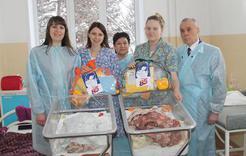В Коркино поздравили молодых мам в день юбилея области