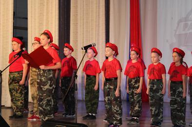 В Коркино стартовал месячник по военно-патриотическому воспитанию