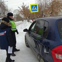 Коркинские полицейские за трезвый путь