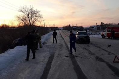 В Коркино в ДТП пострадали два водителя