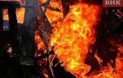 Ночью у жителя Розы сгорела баня