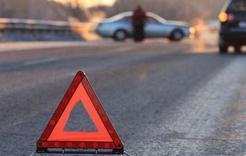 На трассе под Коркино произошло ДТП с участием трёх машин