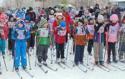 Сегодня коркинцы вышли на старт «Лыжни России -2019»