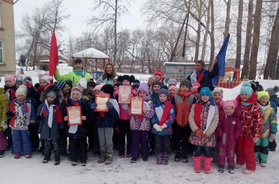Детсадовцы и школьники Коркино соревновались вместе