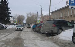 Как правильно парковать машину рядом с поликлиникой в Коркино