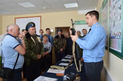 Пограничное управление ФСБ наградило лучших дружинников