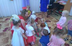 Дошкольники Коркино начинают праздновать 8 Марта