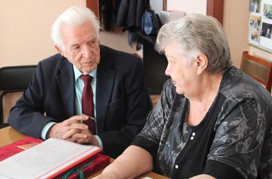 Коркинские ветераны принимали коллег из областного совета