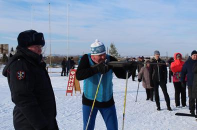 Полицейские Коркино провели спортивные соревнования