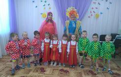 Дошкольники Коркино отпраздновали Масленицу