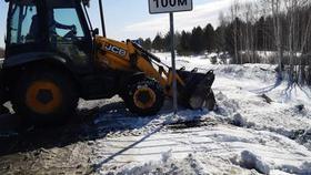Дорожники следят за безопасностью трасс Челябинской и Курганской областей