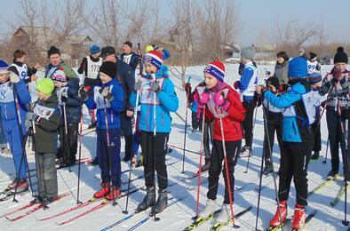 В Коркино лыжный сезон завершился массовыми соревнованиями