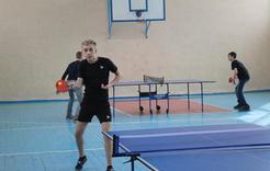 Студенты КГСТ стали серебряными и бронзовыми призерами зонального первенства по настольному теннису