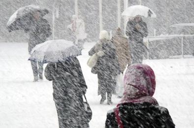 На Южный Урал идёт циклон с дождём и снегом