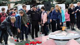 Росгвардия посвятила автопробег Дню Победы