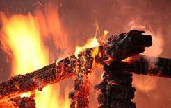 В Коркино горела очередная баня