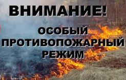 В Коркинском районе – особый противопожарный режим