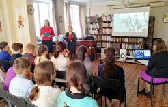 Школьникам Коркино рассказали о маленьких героях войны