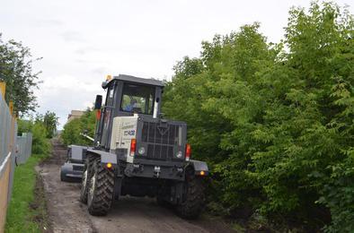 Улицы частного сектора Коркино грейдируют по графику