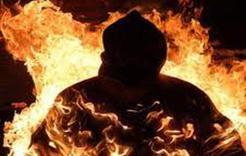В Коркино мужчина совершил самосожжение