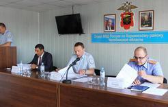 Полицейские Коркино отчитались за работу в первом полугодии