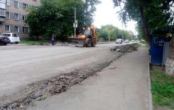 В Коркино начался ремонт дорог