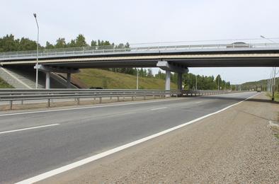 Мост возле Коркино открыт для проезда