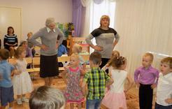 Пригласили бабушек и дедушек