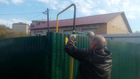 Сегодня в Коркино подключили к газопроводу первый дом по улице Сакко и Ванцетти