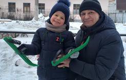 """Вручили последний приз новогоднего розыгрыша """"Вести Коркино"""""""