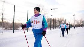 В Коркино состоялись соревнования по скандинавской ходьбе