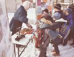 """Волонтеры Коркино провели массовую акцию """"Блокадный хлеб"""""""