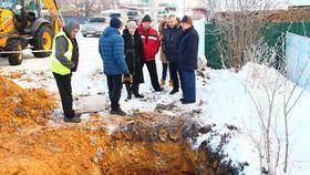 Проверка на прочность: коммунальщики Коркино устраняли аварии