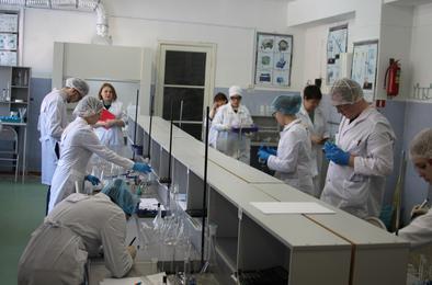 Лучшие химики - в Первомайском техникуме